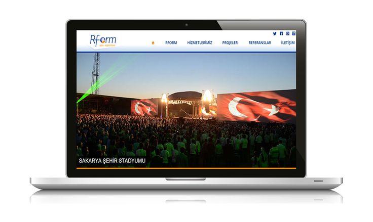 Organizasyon sektöründe yer alan, yeni projeler üretmek ya da var olan projelerinizin gerçekleşebilmesi için bir çözüm ortaklığı sunan, Rform Ajans & Organizasyon web sitesi yayında www.rformajans.com