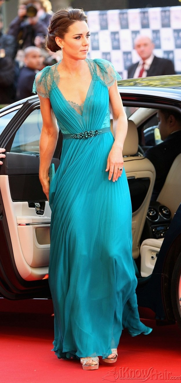 Duchess Kate: Bridesmaid Dresses, Chiffon Beads, Empire Chiffon, Kate Middleton, Cap Sleeve, The Dresses, Duchess Kate, Stunning Dresses, Princesses Kate