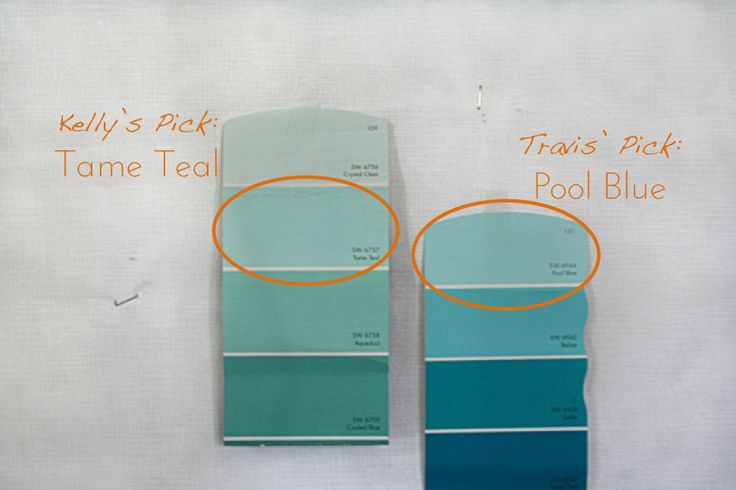 Tame Teal Sherwin Williams Teal Room Teal Ombre