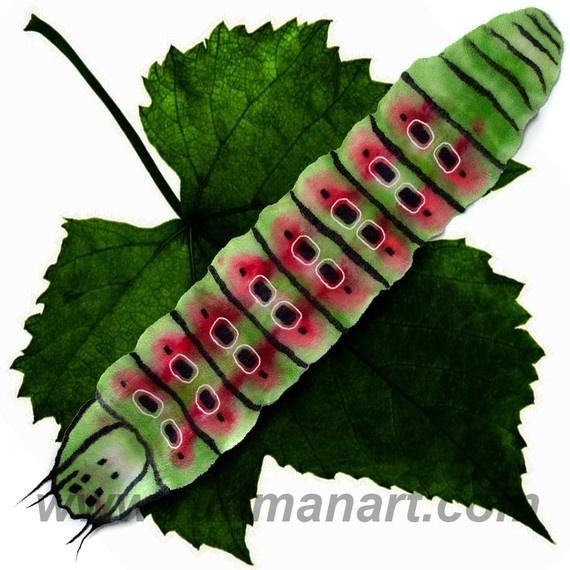 caterpillar scarf by Rudmanarts: Felt Scarfs, Caterpillar Scarfs, Nuno Felt, Nuno Scarves, Felt Things, Fiber Art