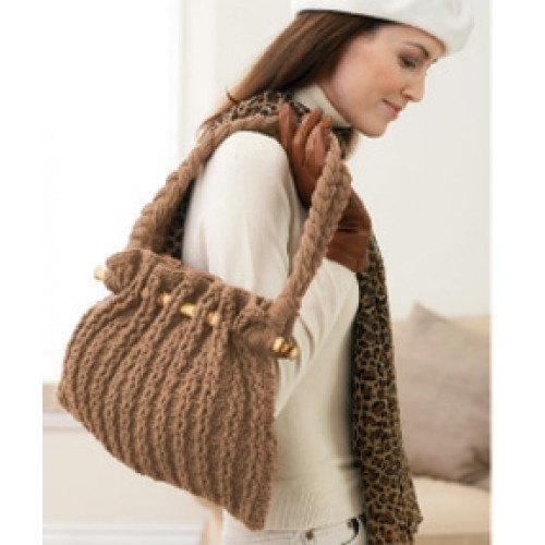 Free Autumn Tote Bag Crochet Pattern