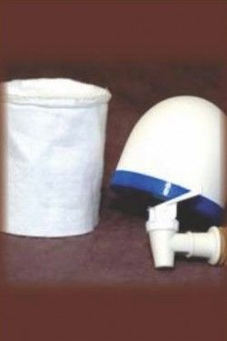 4 x 4 Just Water Kit for Bucket System.  Just add two buckets for clean water when you need it.