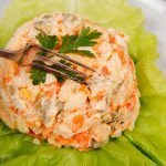 Salata de cruditati cu piept de pui