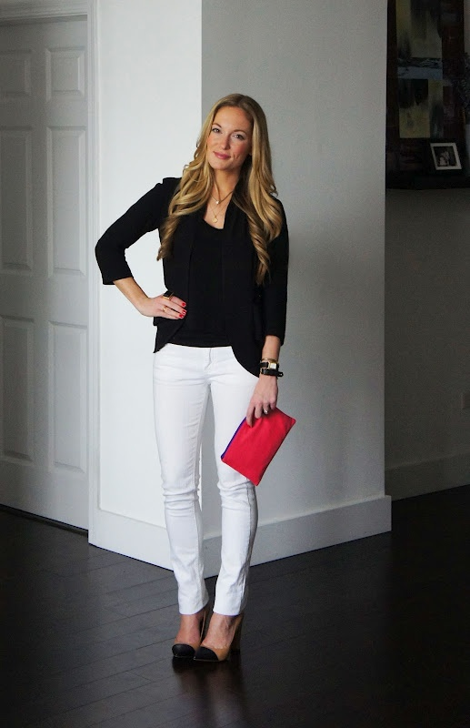 Fantastic Black  White Tee, Blue Jean Jacket Heels A White Tee And Leopard Skirt Is Boring On Its Own Add A Jean Jacket For A More Classic Update One Piece Of Leopard At