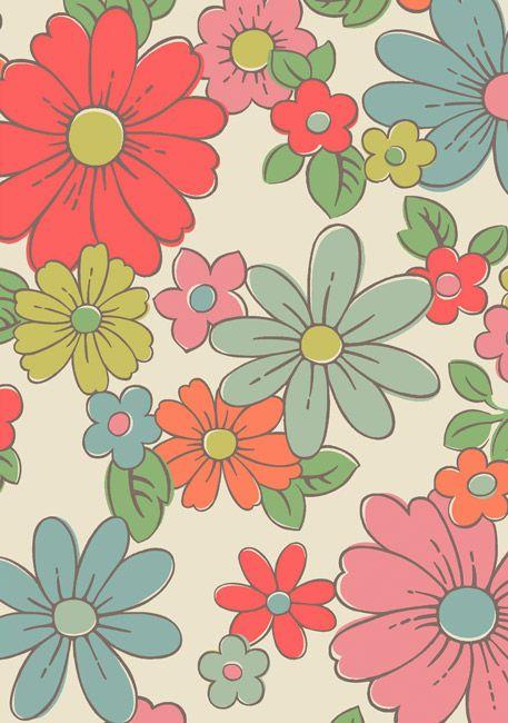 les 67 meilleures images du tableau papier peint fleuri. Black Bedroom Furniture Sets. Home Design Ideas
