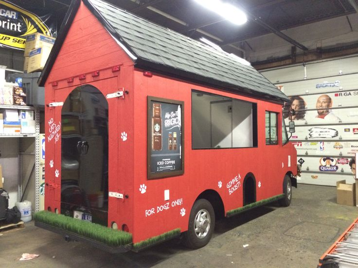One of a Kind Dog House Food Truck in 2019 | mobile love ...