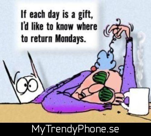 God morgon! #måndag