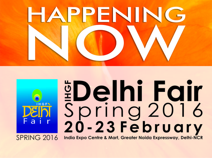 It's all happening at The IHGF Delhi Fair, Spring 2016 #home #lifestyle #fashion #tradeshows