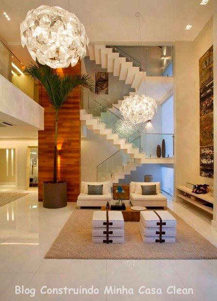 Construindo Minha Casa Clean: Salas com Cores Neutras! Requinte e Aconchego!