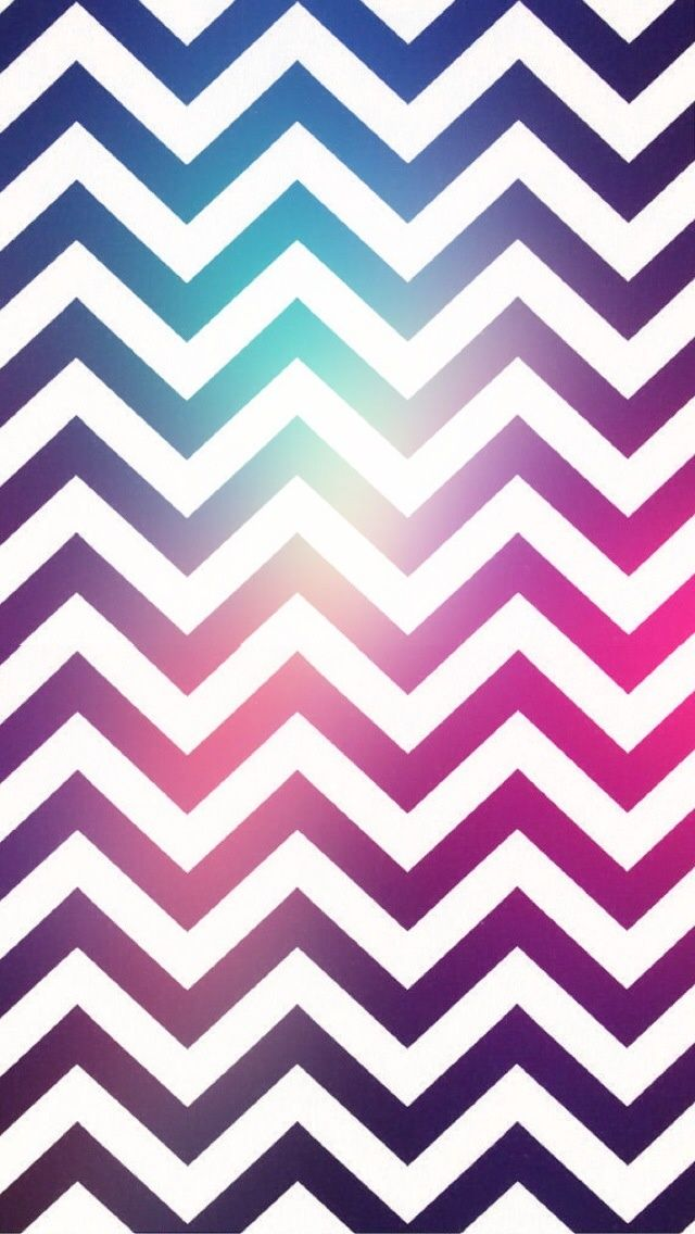Purple Zigzag #iPhoneWallpaper