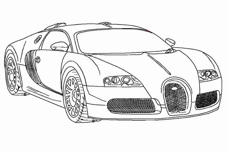 √ 24 bugatti chiron coloring page in 2020  bugatti cars