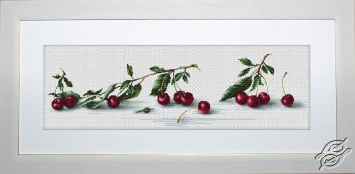 Cherry - Cross Stitch Kits by Luca-S - B2252