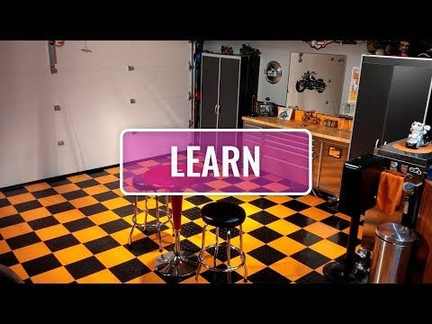 Diamond Nitro Rolls Vinyl Garage Flooring Garage Floor Tiles Garage