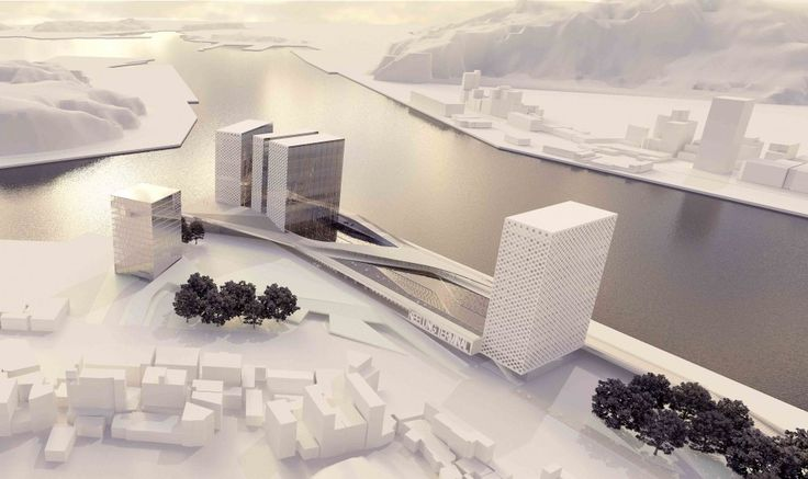 Keelung New Harbor Service Building Competition Entry (1)