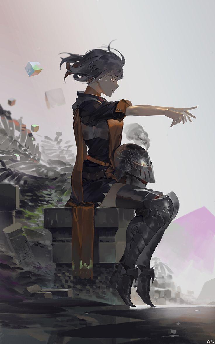 Waiting, Geoffrey Chan on ArtStation at https://www.artstation.com/artwork/vylA3?utm_campaign=digest&utm_medium=email&utm_source=email_digest_mailer