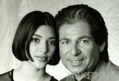 Political fathers and their daughters weddings | Kim Kardashian's father, dad Robert Kardashian, how did he die? Khloe ...