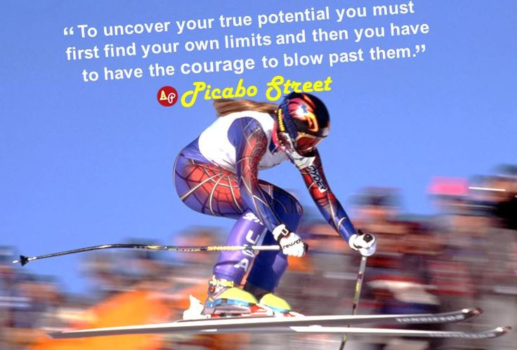 """""""To uncover your true potential you must first find your own limits and then you have to have the courage to blow past them."""" - #PicaboStreet"""