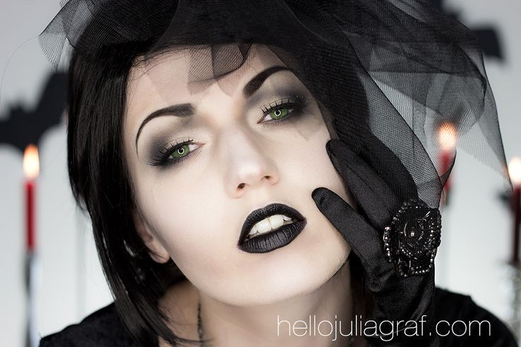 Halloween Series: Black Widow / Victorian Ghost