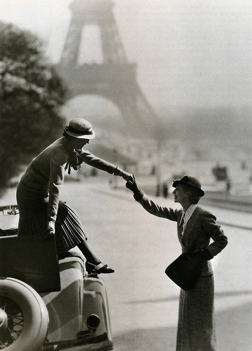 Paris photographed by George Hoyningen-Huene.