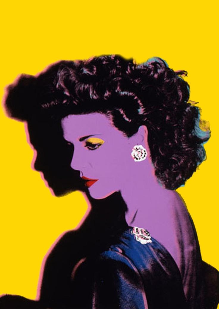 Princess Caroline of Monaco by Andy Warhol (1983).