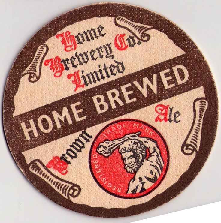 British Beer mats, Home Brewery, Notts, Brown Ale