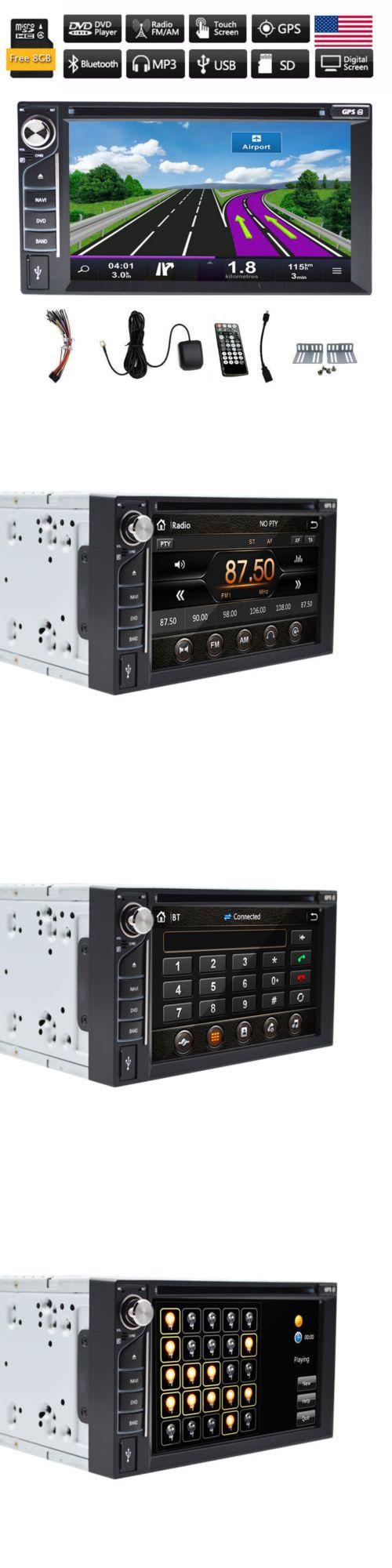 Video in dash units w gps 6 2 car gps navigation ipod radio dvd player