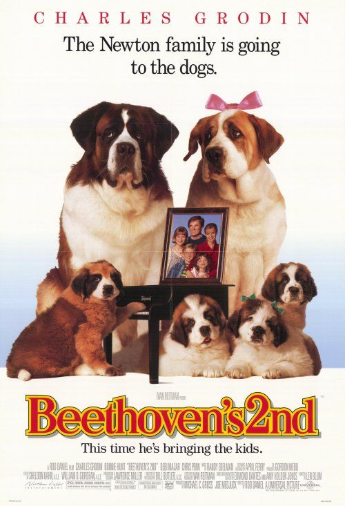 Beethoven's 2nd , starring Charles Grodin, Bonnie Hunt, Nicholle Tom, Christopher Castile. Beethoven the St. Bernard dog becomes a father, but his girlfriend Missy is dog-napped, and his puppies are in danger of the same fate. #Comedy #Family #Romance