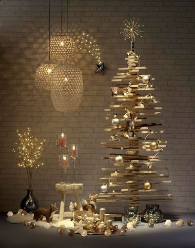 sapin de noel original a faire soi meme inspiration arbres et atelier. Black Bedroom Furniture Sets. Home Design Ideas