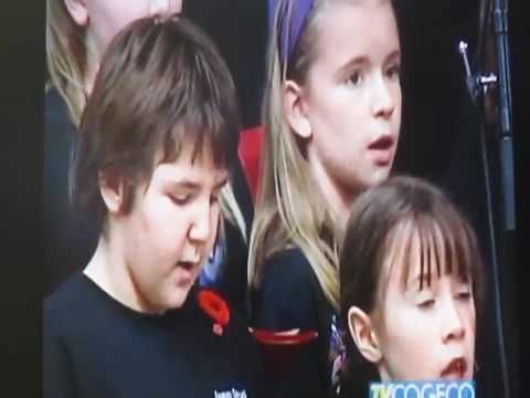 Flanders Fields CBC - YouTube  >>> Craig Cassils. Option to add movement / dance ... or tableaux scenes throughout piece.