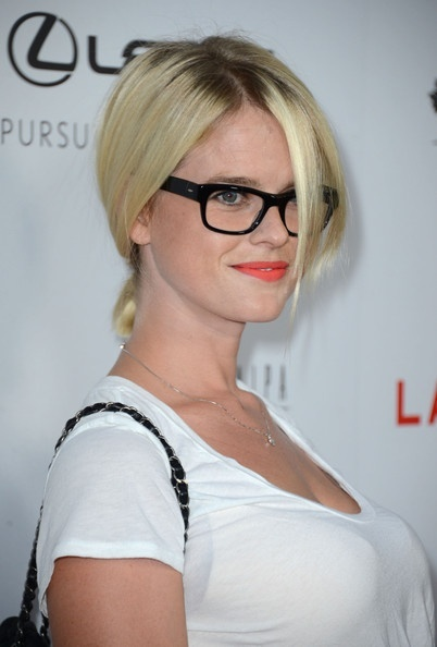 Alice Eve Ponytail