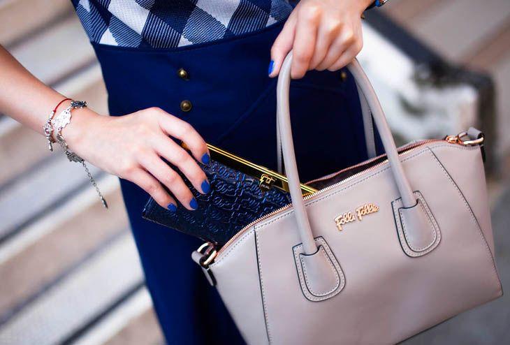 Something blue and something grey / Fashion Forward