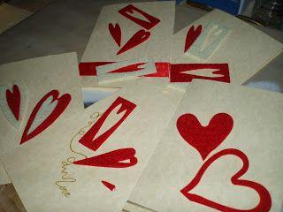 Fimo e Feltro...l'arte tra le mani: Biglietti auguri LOVE