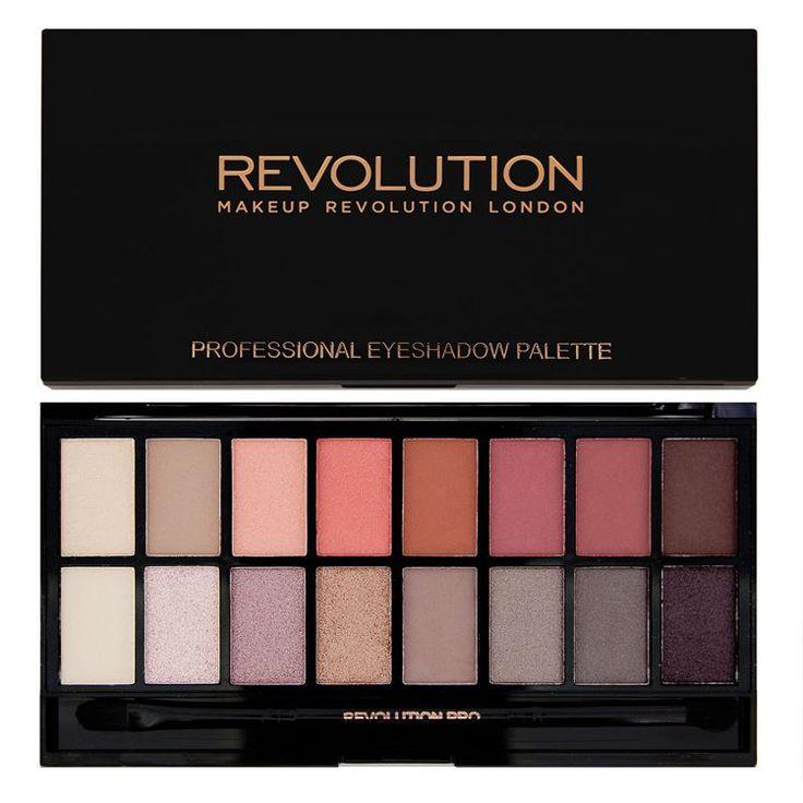 New-Trals vs Neutral Makeup Revolution to przepiękna paleta cieni w tonacjach beżowych, różowych, brązowych i złotych. Cienie w tej palecie są aksamitne, trwałe, dobrze się ze sobą mieszają nie tworząc plam.