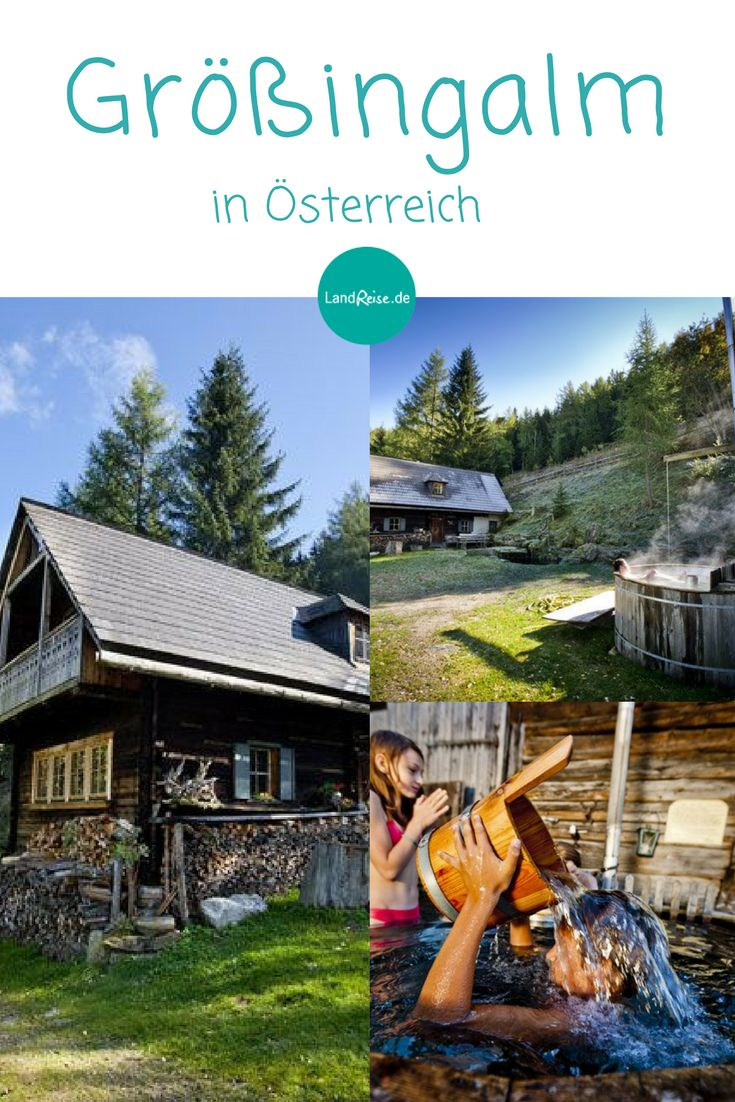 Almhüttenurlaub in Österreich mit der ganzen Familie.