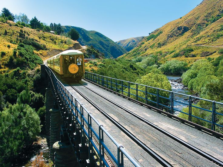 Trovolo - Taieri Gorge Railway #train #scenery #amazing #NewZealand #travel #photography