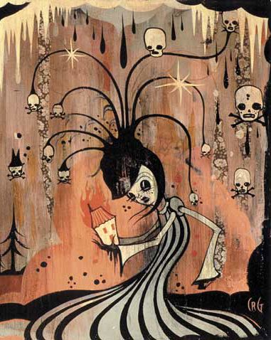 Camille Rose Garcia: Hauntingly captivating art pieces <3