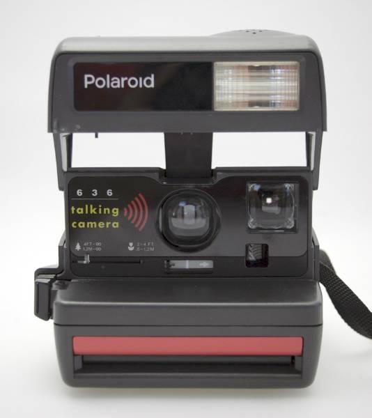 POLAROID 636 talking camera / Sofortbildkamera / OK in Wetzikon ZH kaufen bei ricardo.ch