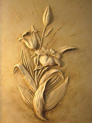 19 best Flowers images on Pinterest   Carved wood, Carving and Scores