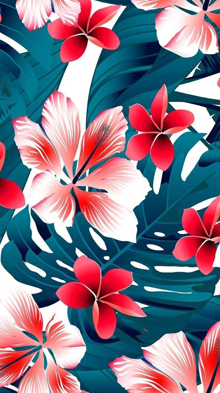 Fondos De Pantalla Floral Wallpaper Phone Iphone Wallpaper Tropical Iphone Wallpaper Pattern
