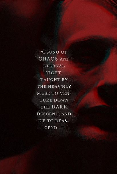 """Have you ever seen blood in the moonlight? It appears as black."" Hannibal"
