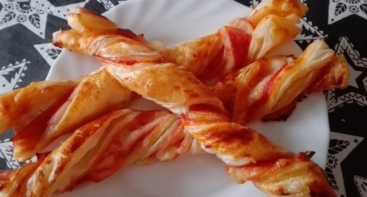 Sonkás-sajtos csavart leveles | APRÓSÉF.HU - receptek képekkel