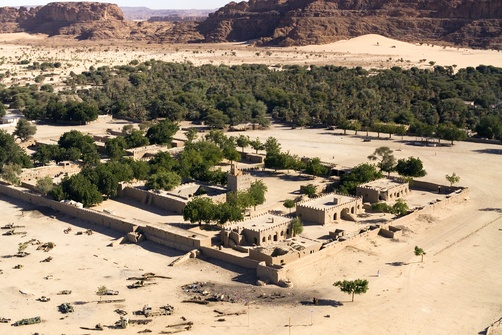 In northern Chad, Foreign Legionnaire forts are still intact.