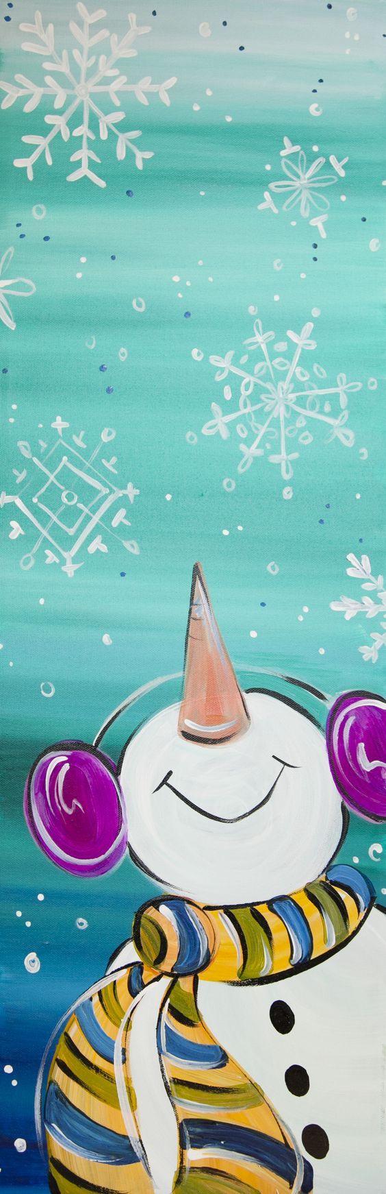 20+ Stunning Christmas Canvas Paintings – Linda Hearn