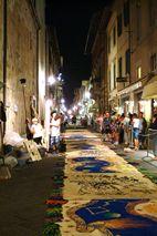 Comune di Camaiore - 04 - Corpus Domini. Tappeti di segatura colorata June 5, 6 2015