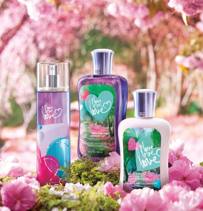 Love Love Love By Bath Body Works My Favorite Perfume Bath