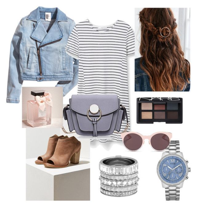 Untitled #1 by zuxrav on Polyvore featuring polyvore, fashion, style, MANGO, Dolce Vita, GUESS, Henri Bendel, Christian Dior, NARS Cosmetics, Abercrombie & Fitch, women's clothing, women's fashion, women, female, woman, misses and juniors