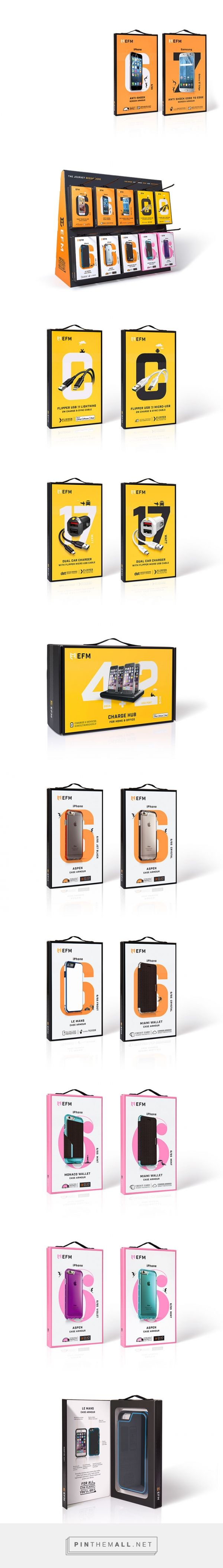 iPhone and Samsung Phone Accessories Packaging Designs | Dessein - created via https://pinthemall.net