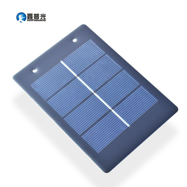 Xinpuguang 10pcs 2v 1 2w Epoxy Resin Solar Panel Portable Beautiful With Eyelets Factory Selling Price Solar Best Solar Panels Solar Energy Panels Solar Panels