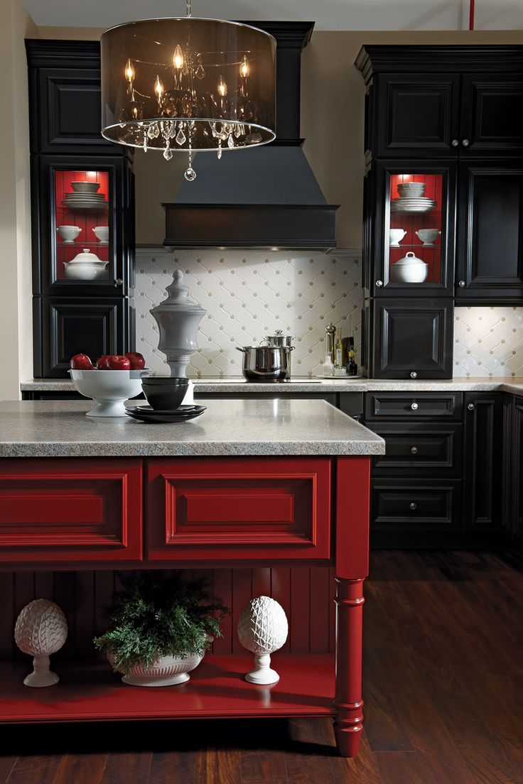Kraftmaid grey kitchen cabinets - Find This Pin And More On Cabinet Kraftmaid