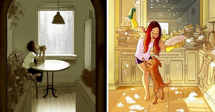 Yaoyao Ma Van As. Cette dessinatrice saisit à la perfection le bonheur de vivre seul